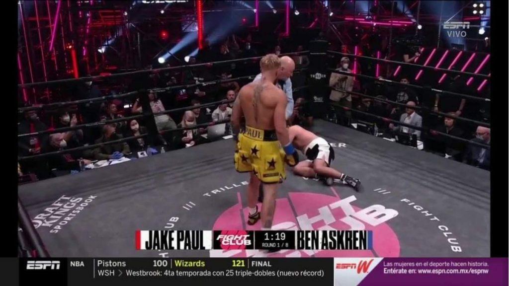 Jake Paul knocks out Ben Askren