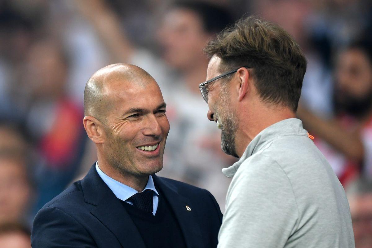 Klopp and Zidane