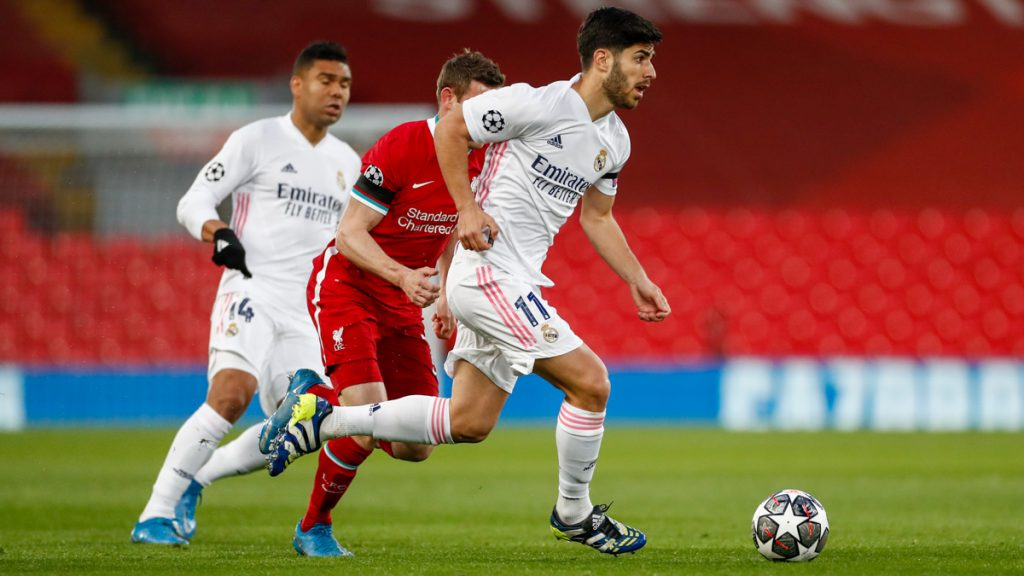 Marco Asensio in action - FirstSportz