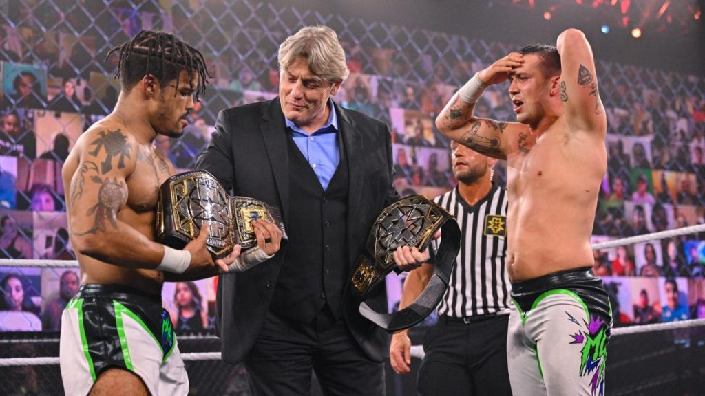 NXT TakeOver Stand & Deliver results