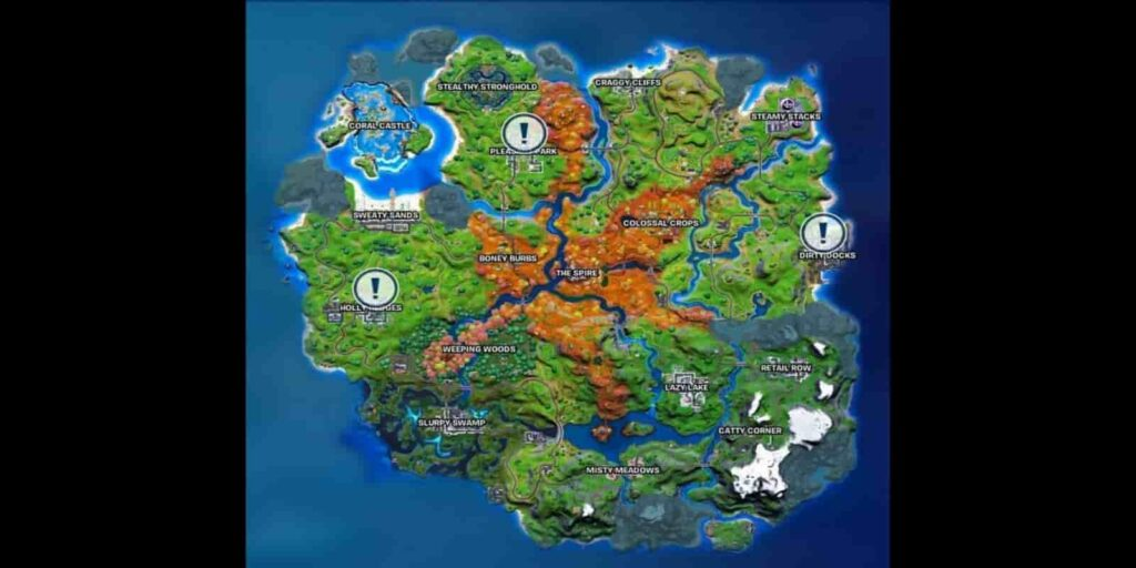 Soccer Players In Fortnite Map
