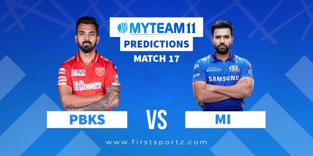 Punjab Kings (PBKS) vs Mumbai Indians (MI)