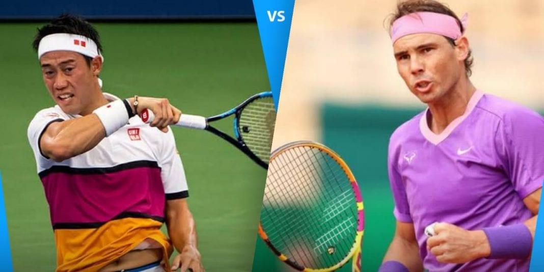 Rafael Nadal vs Kei Nishikori