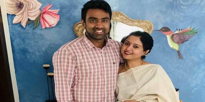 Ravichandran Ashwin wife