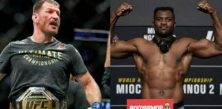 Stipe Miocic and Francis Ngannou