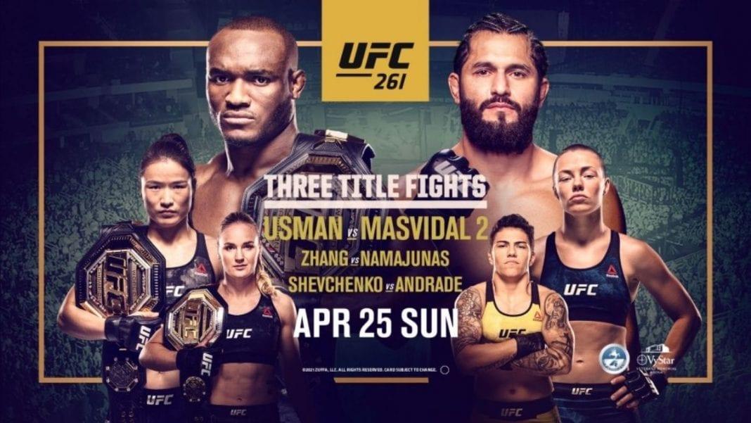 UFC 261 Live