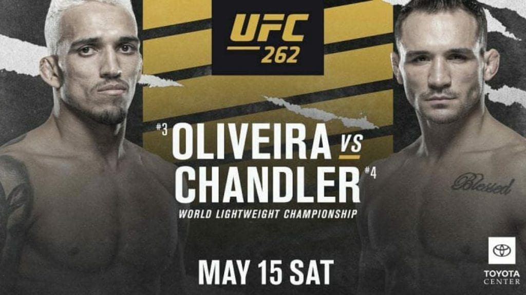 UFC 262: Michael Chandler vs Charles Oliveira