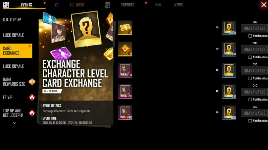 Universal Fragments in Free Fire