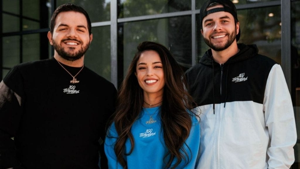 Valkyrae and CouRage become co-owners of 100 Thieves