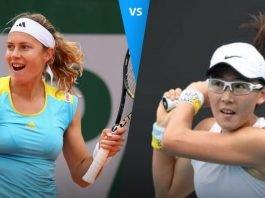 Stefanie Voegele vs Saisai Zheng