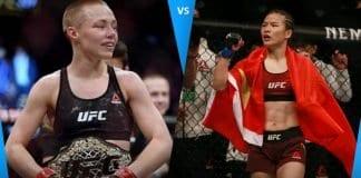 Weili Zhang vs Rose Namajunas