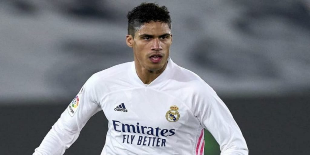 Raphael Varane is set to miss the game against Liverpool