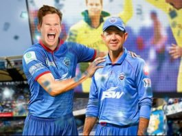 Steve Smith and Ricky Ponting