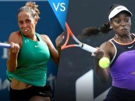 Madison Keys vs Sloane Stephens