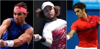 Rafael Nadal Marco Trungelliti Roger Federer