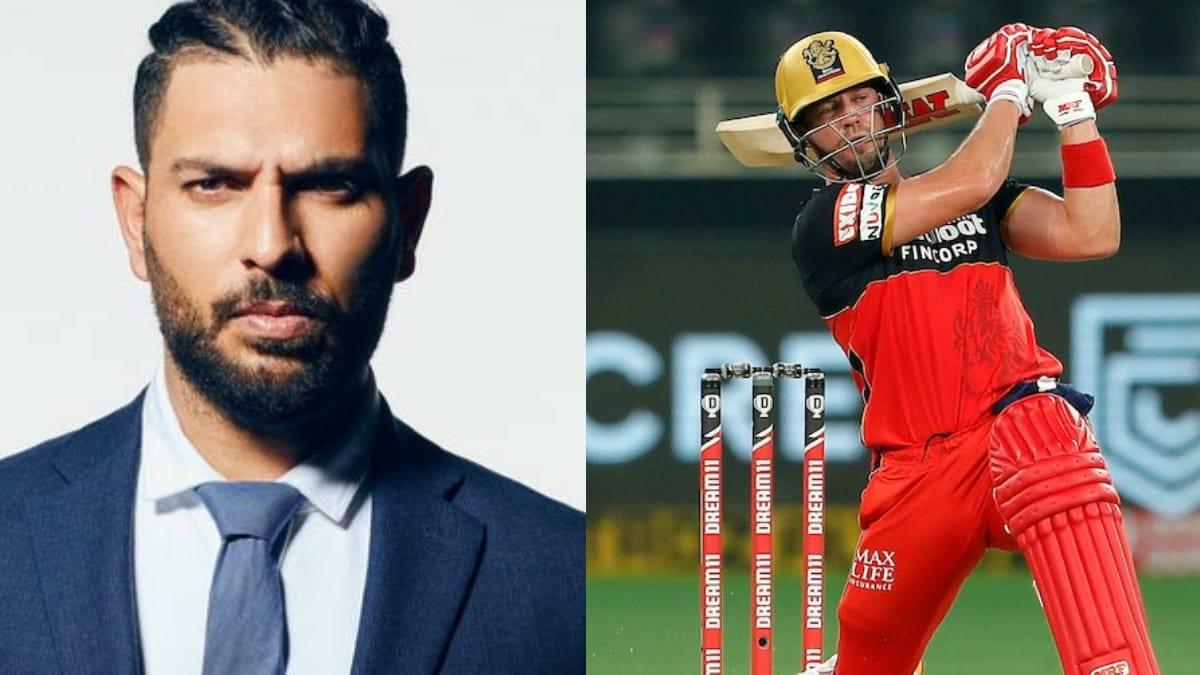 Yuvraj Singh and AB de Villiers