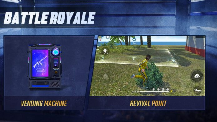 Revival Points in Free Fire
