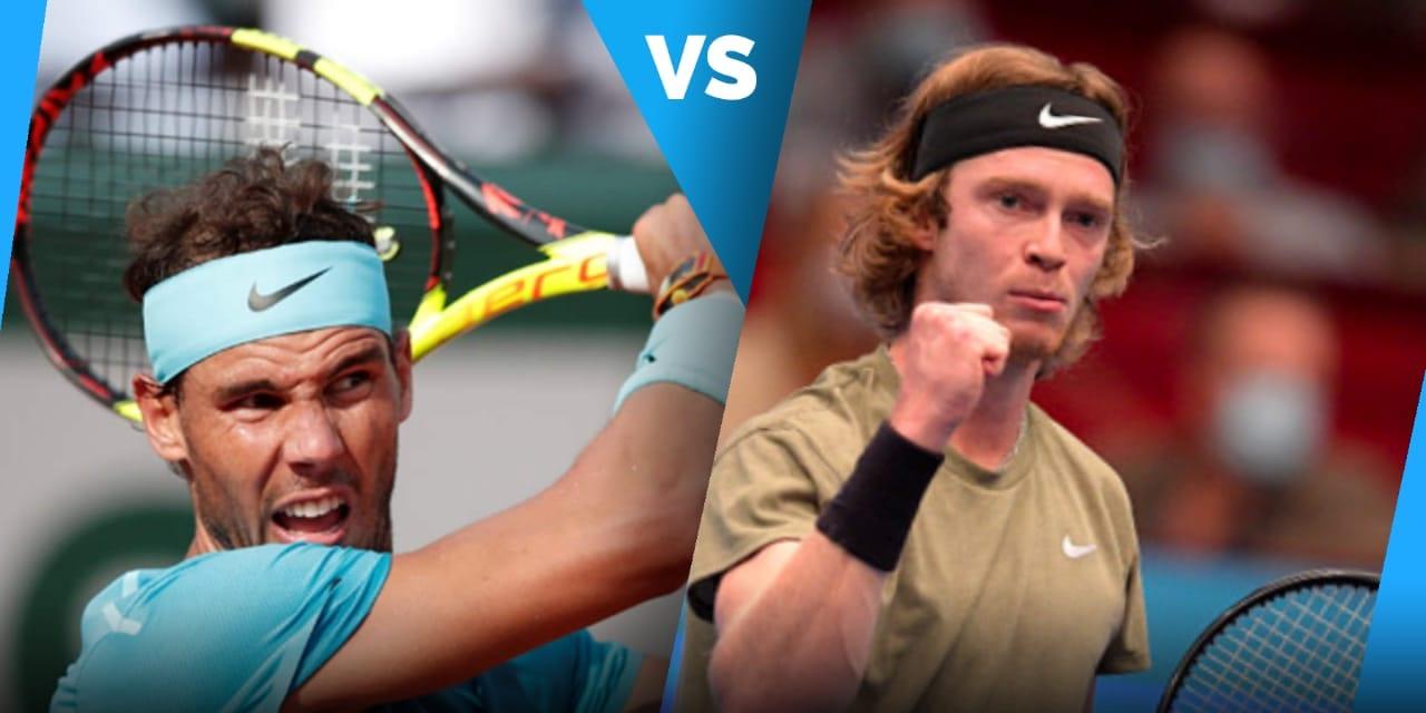 Rafael Nadal vs Andrey Rublev