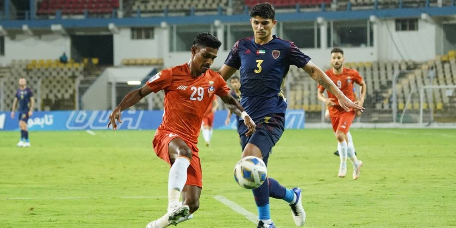 FC Goa produced a scintillating stalemate, Aibanbha Dohling