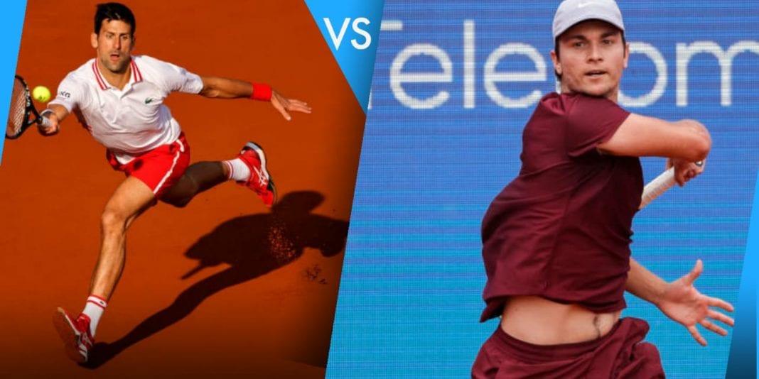 Novak Djokovic vs Miomir Kecmanovic