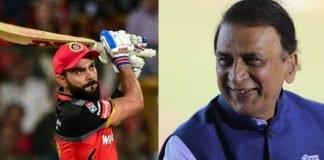 Virat Kohli and Sunil Gavaskar