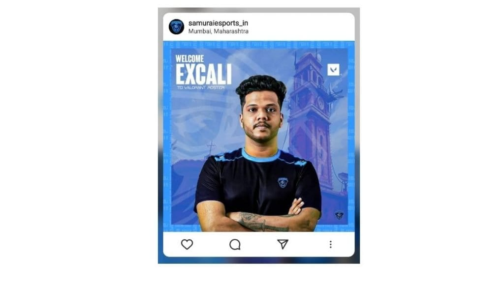 Legal action against ex-player Excali
