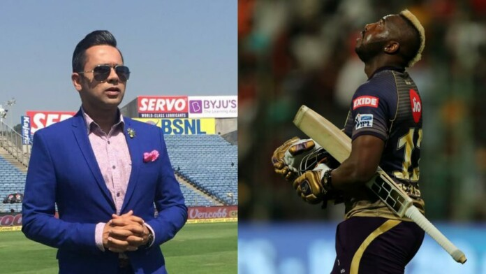 Aakash Chopra and Andre Russell