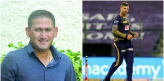 Ajit Agarkar and Lockie Ferguson