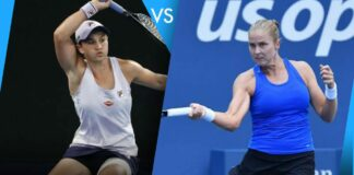 Ash Barty and Shelby Rogers