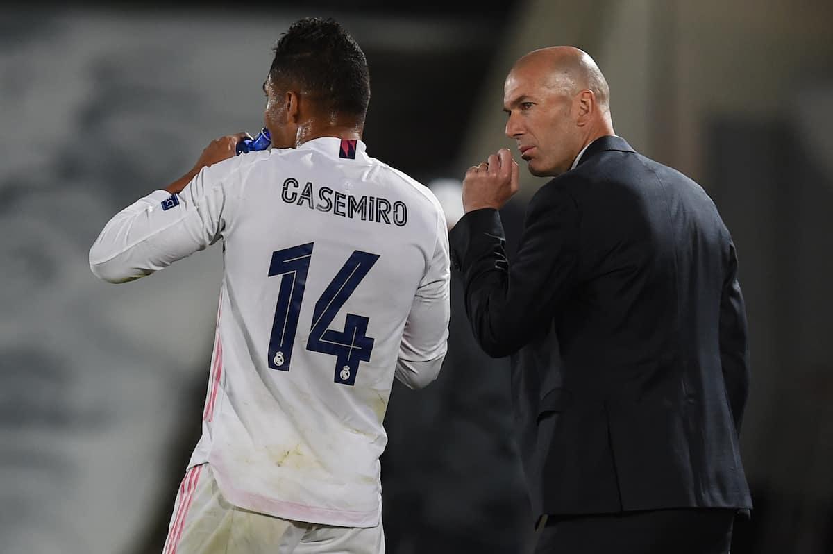 Zidane and Casemiro