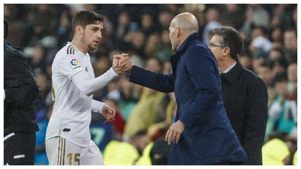 Zidane used Federico Valverde at right back in the absesnce of Lucas Vazquez against Liverpool and it paid off perfectly well - FirstSportz