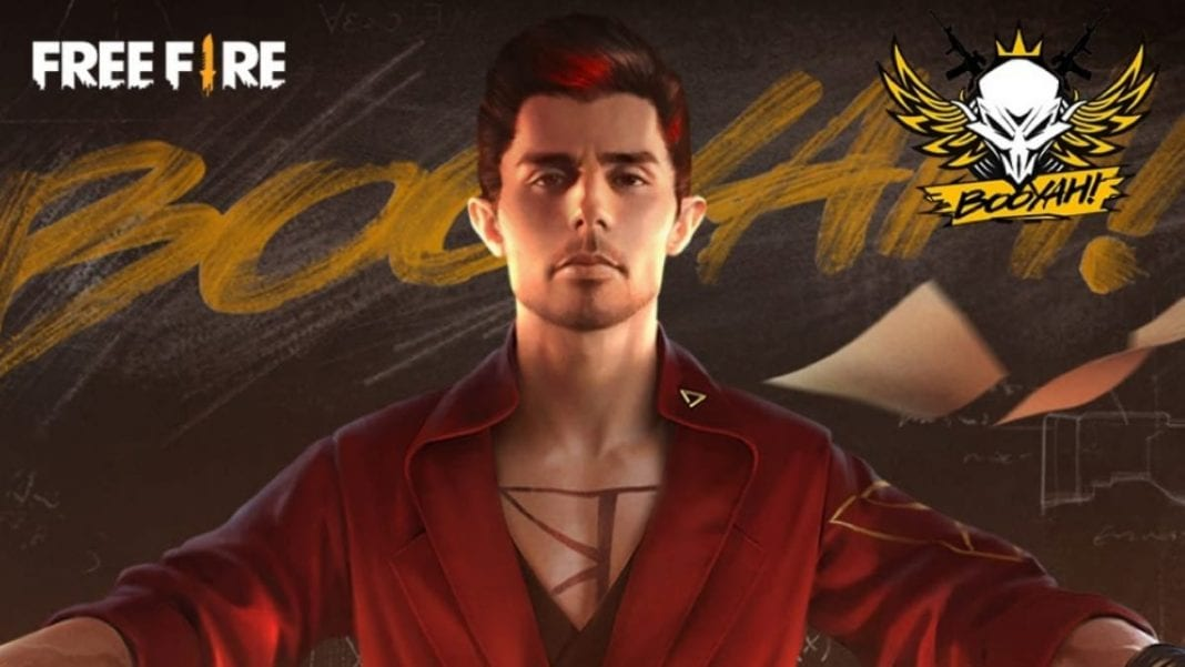 Free Fire redeem codes for April 25