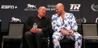Bob Arum and Tyson Fury