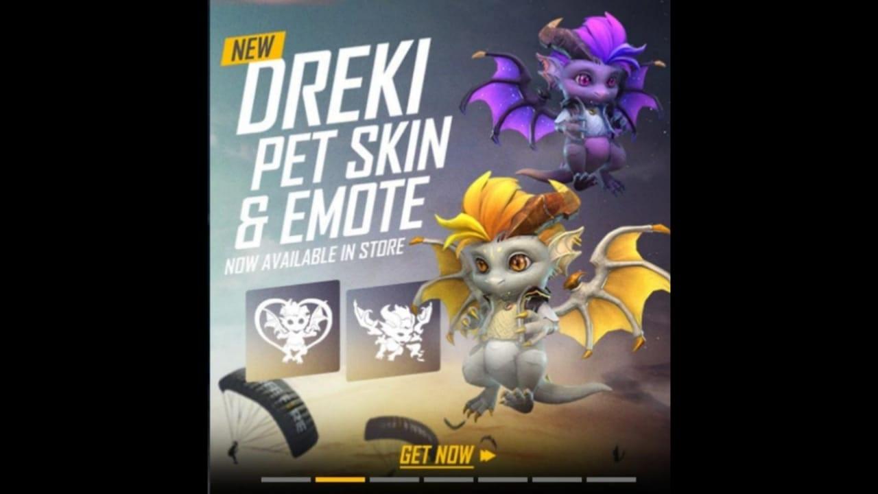 Dreki Pet in Free Fire