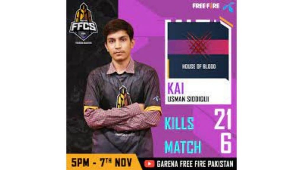 kai free fire tri-series 2021