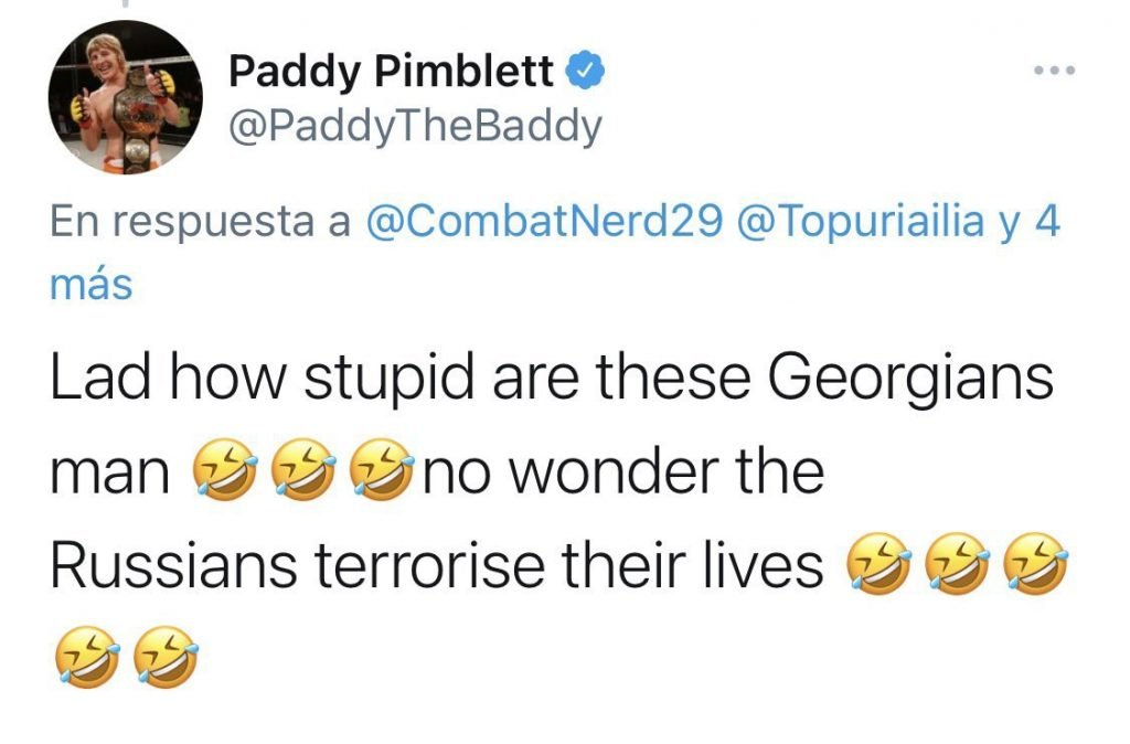 paddy pimblett - FirstSportz