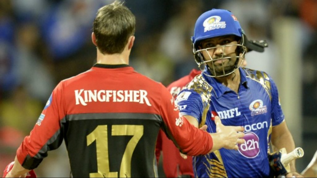 AB de Villiers and Rohit Sharma