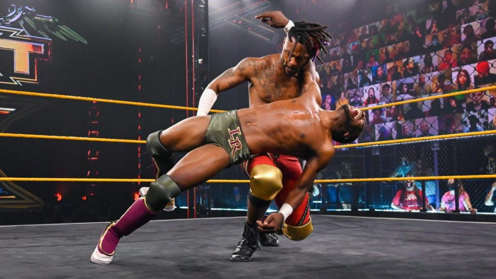 WWE NXT results – 13/04/2021 (Raw and Smackdown Champions appear, Franky Monet debuts) » FirstSportz
