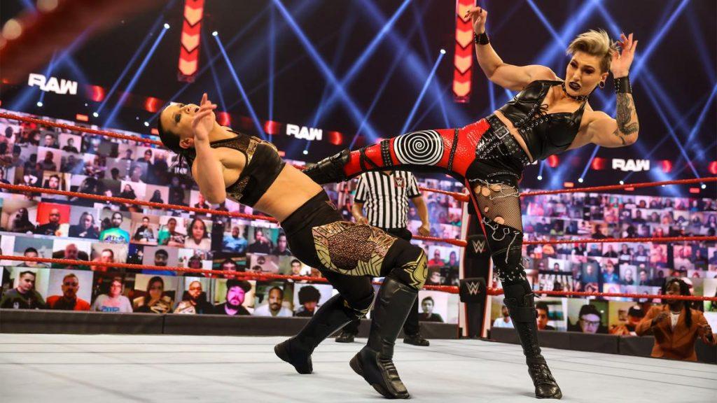 wwe raw results rhea ripley shayna baszler