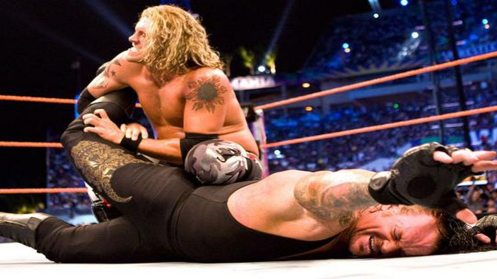 the undertaker edge wrestlemania