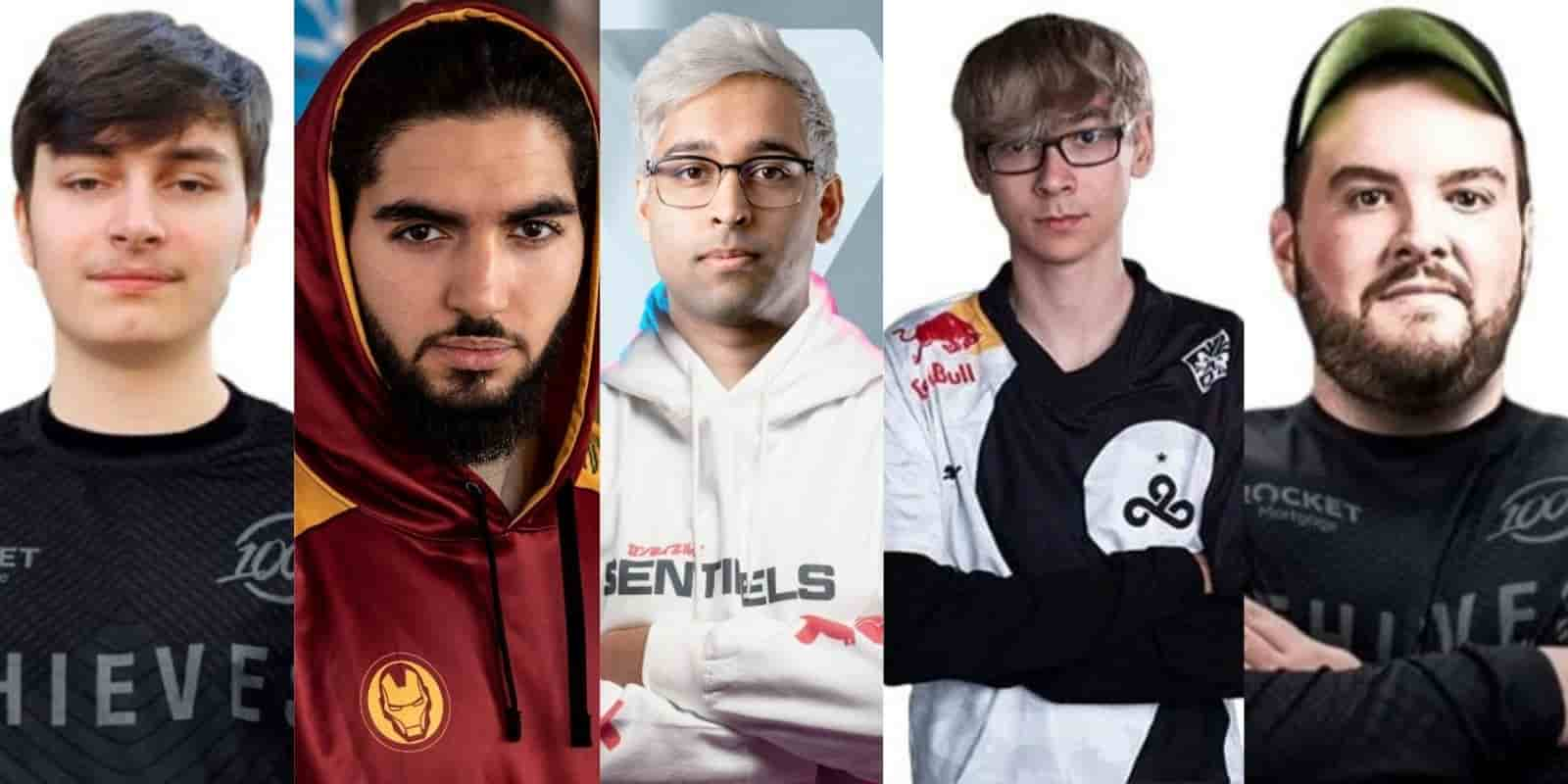 Best 5 Valorant Players