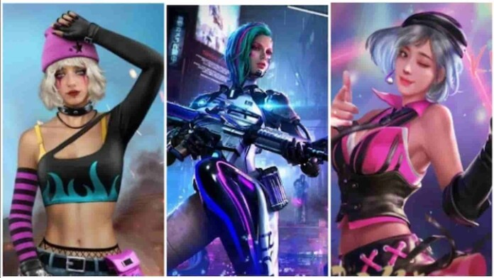 3 Best Free Fire Female character combinations for May 2021