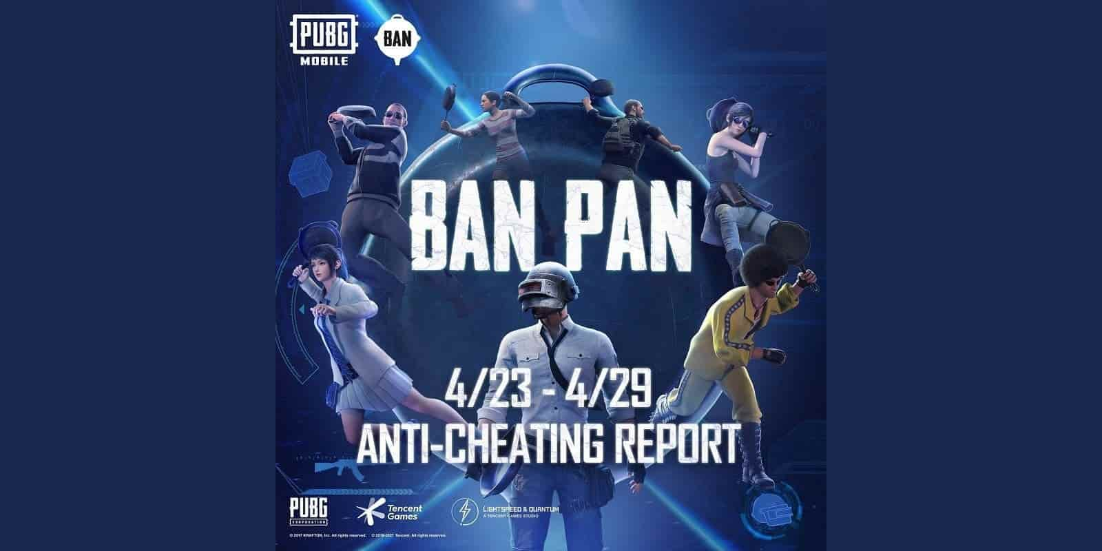 Accounts Gets Banned By New Anti-cheat in PUBG Mobile
