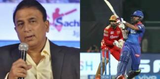 Sunil Gavaskar and Shikhar Dhawan