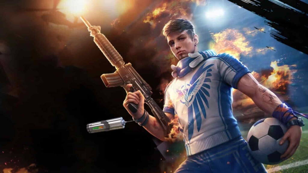 Free Fire redeem codes for May 5
