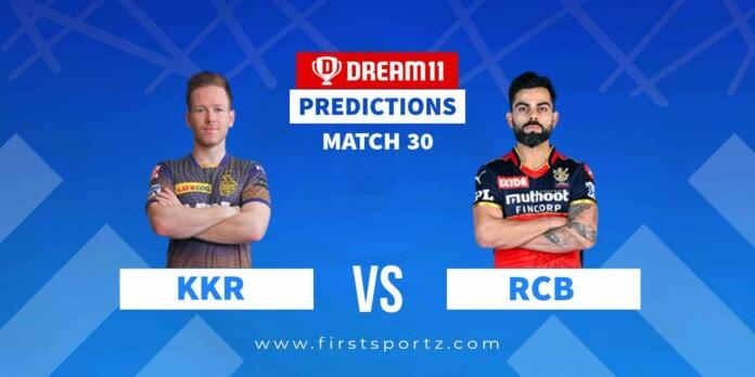 KKR vs RCB IPL 2021