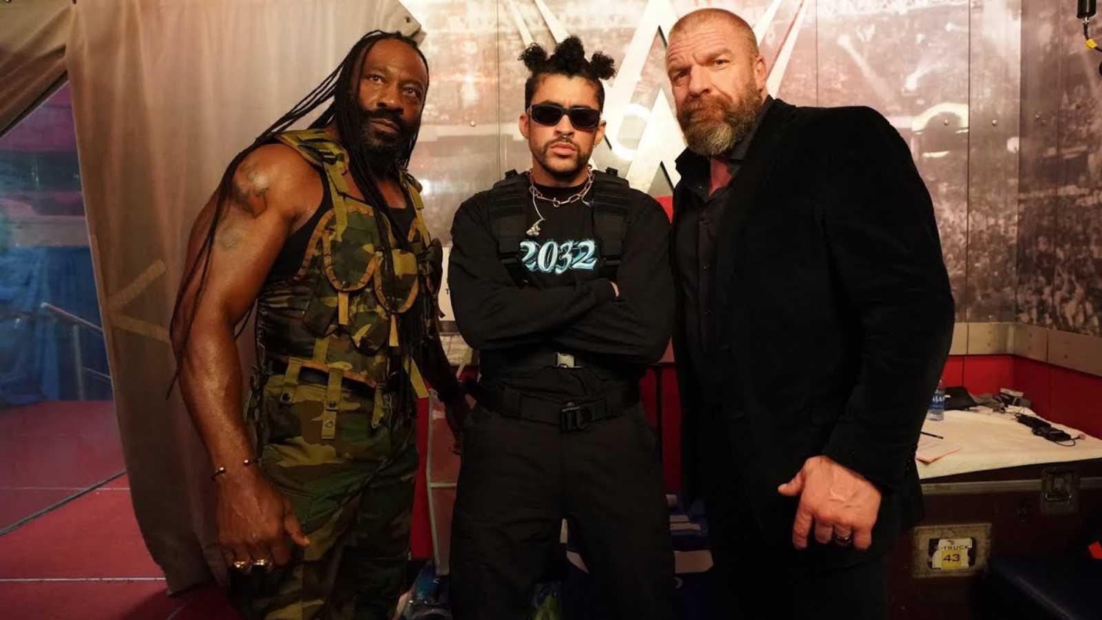 Booker t Triple H