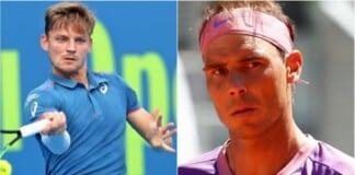 David Goffin, Rafael Nadal