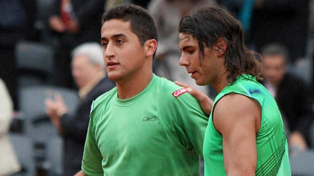 Rafael Nadal and Nicolas Almagro