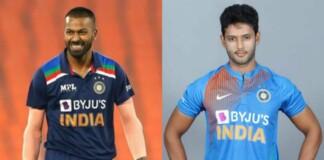 Hardik Pandya and Shivam Dube
